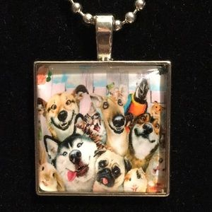 Jewelry - 📌FREE Smiling Animal Pug Husky BallChain Necklace